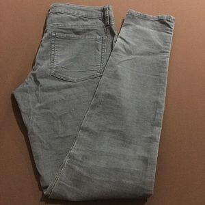 Roxy Blue corduroy size 5 (Junior) skinny pants